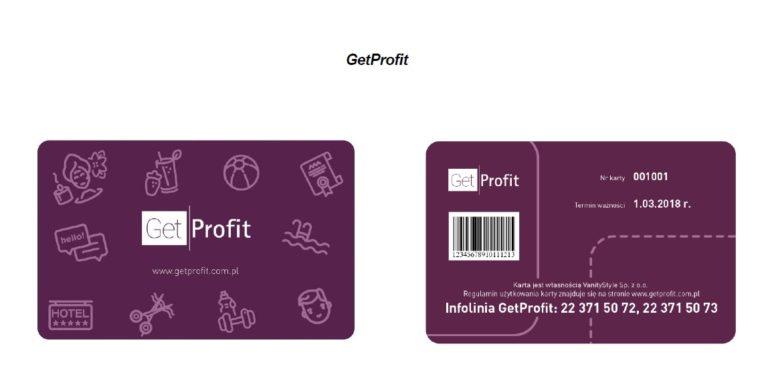 Karta GetProfit
